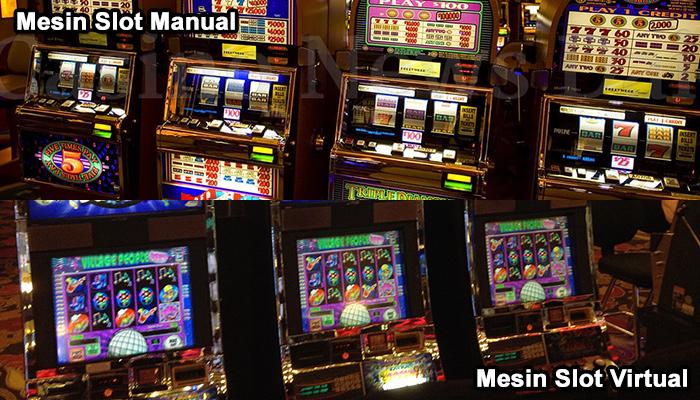 mesin lost manual vs mesin slot virtual