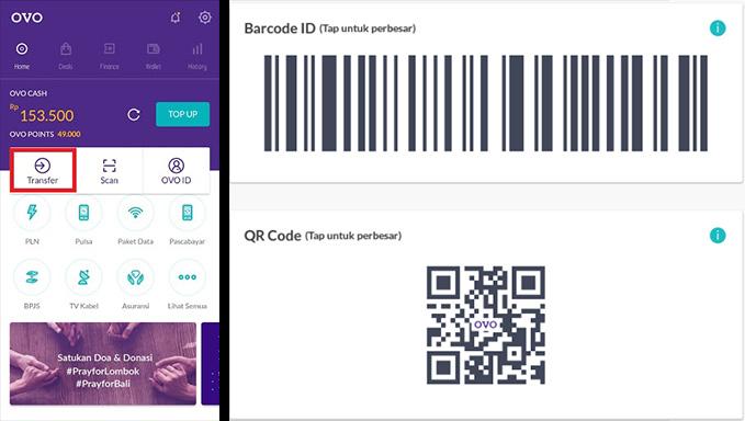 transfer scan barcode winning303
